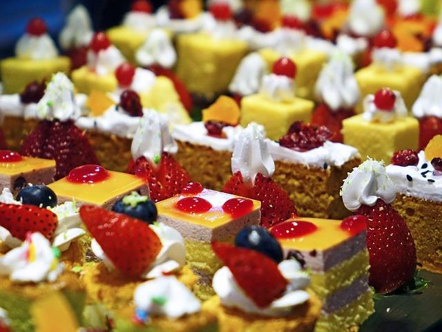 Kuchen und Süßspeisen