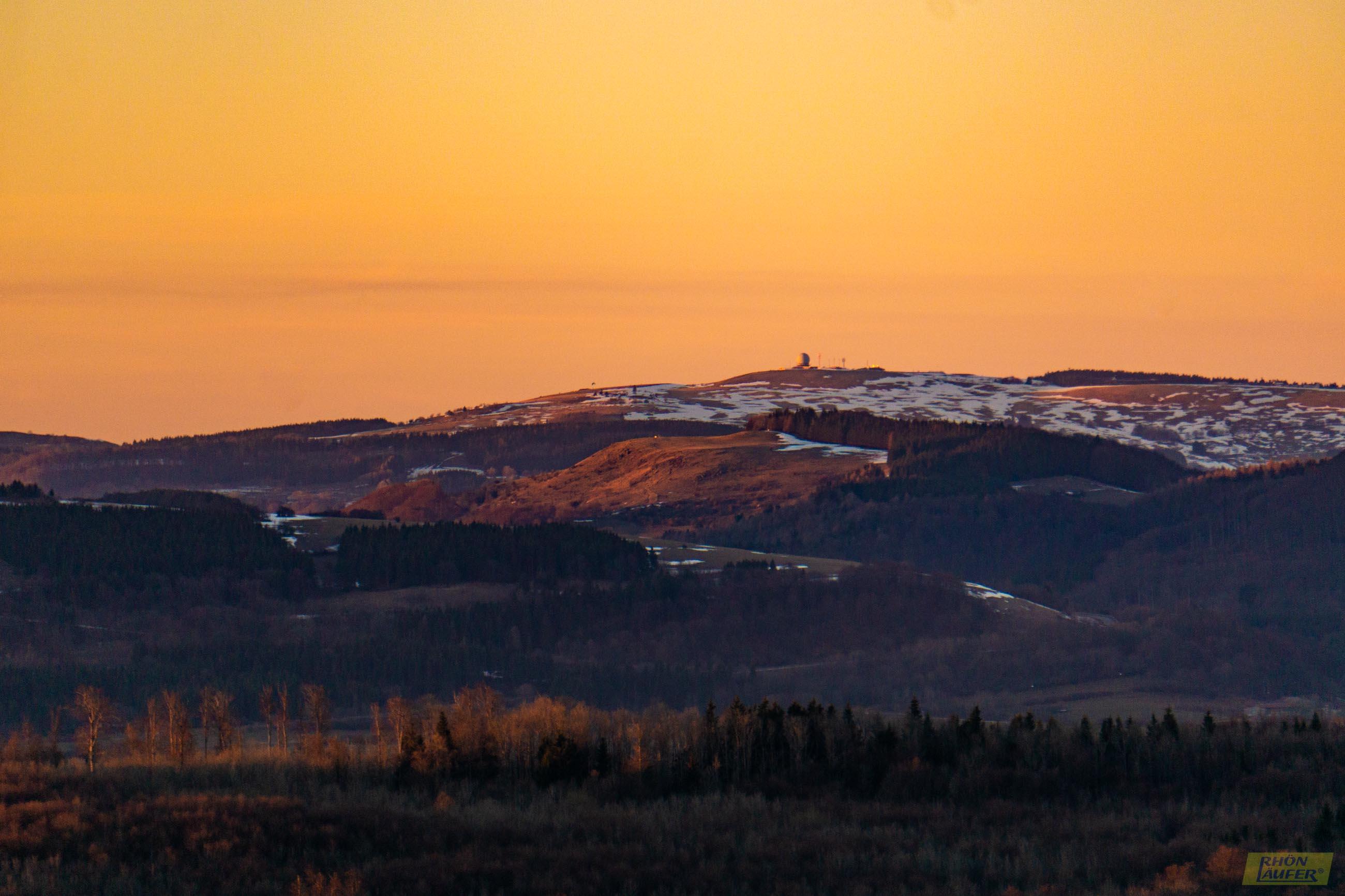 Feuerberg Sunset