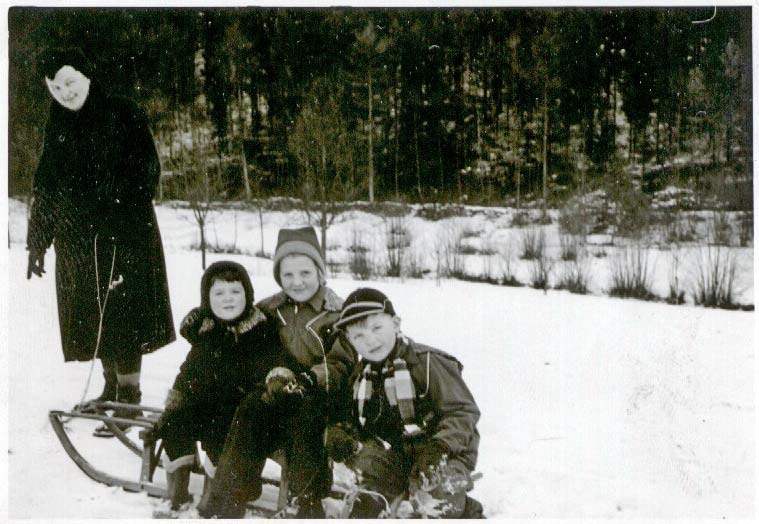 Winter um 1950